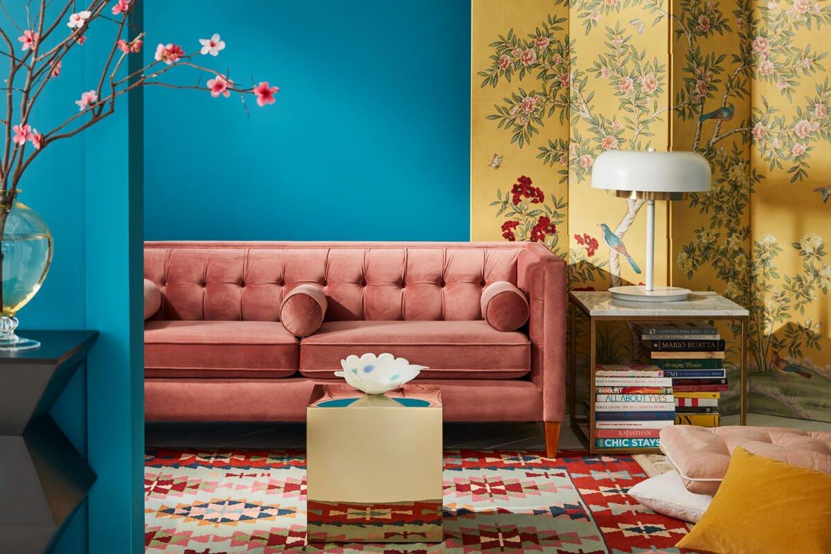 maximalist studio / spring color